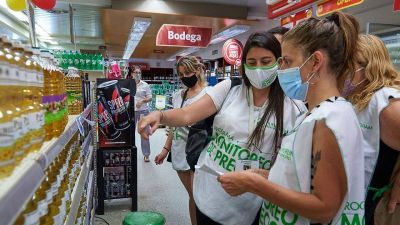 Zabaleta controló precios en supermercados de Hurlingham