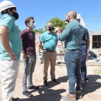 Ituzaingó | El intendente Descalzo recorrió el avance de obras en el distrito
