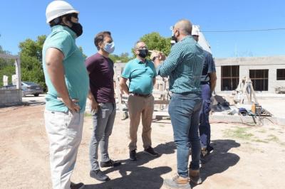 Ituzaingó   El intendente Descalzo recorrió el avance de obras en el distrito