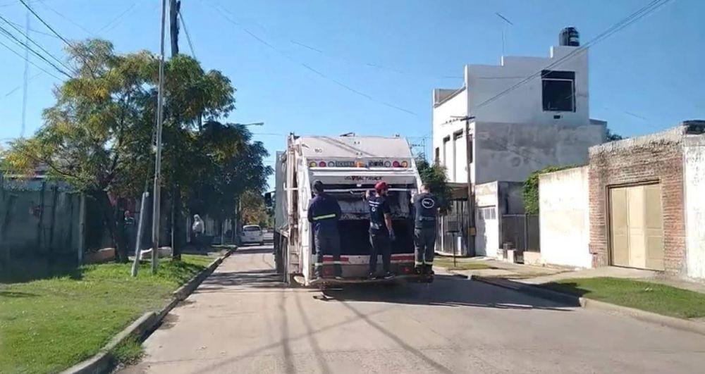 Reclamo por inconvenientes en la recolección de residuos