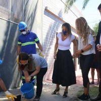 Avellaneda: Galmarini y Chornobroff habilitaron una red de desagües cloacales