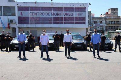 Seguridad: Grindetti y Santilli presentaron móviles para la nueva Patrulla de Respuesta Inmediata