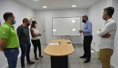 El intendente puso en funciones a las nuevas autoridades del Sistema de Emergencias Prehospitalario