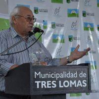 Tres Lomas: Álvarez anunció el arribo de obras por más de 200 millones de pesos