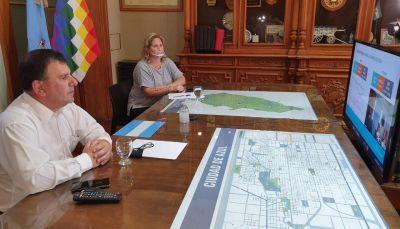 Reunión con el gobernador Kicillof y el ministro de Salud Daniel Gollán