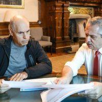 Alberto Fernández y Rodríguez Larreta buscan una instancia de negociación para destrabar el conflicto por la quita de fondos