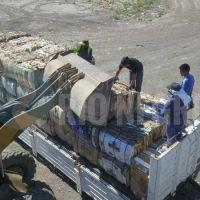 Partieron de Viedma 20.000 kilogramos de cartón para reciclar