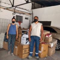 Del Estado: En la fecha dos cooperativas de recicladores recibieron elementos de protección personal
