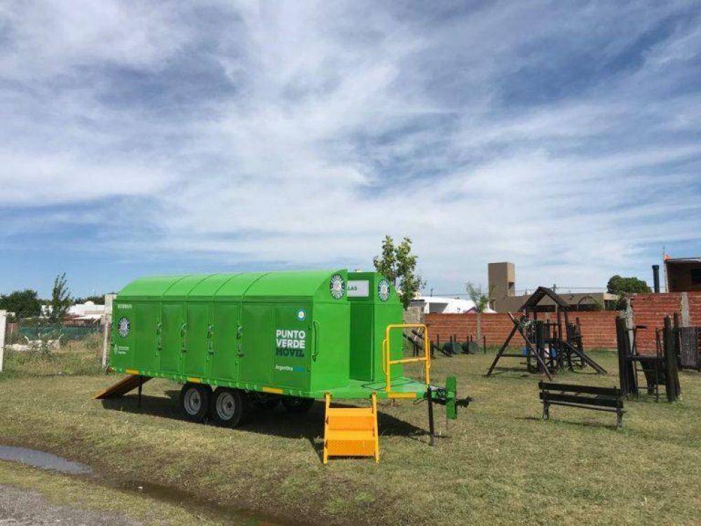 Habrá dos puntos móviles para llevar residuos reciclables en Escobar