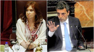 Massa y Cristina Kirchner vuelven a congelar las dietas de diputados y senadores