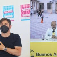 Vuelta a clases y vacunas: Kicillof y Larreta juegan a diferenciarse