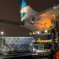 Parte el tercer vuelo de Aerolíneas Argentinas rumbo a Rusia en busca de la vacuna contra el coronavirus Sputnik V
