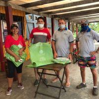 Ituzaingó: iniciaron en la playa una campaña para la separación de residuos