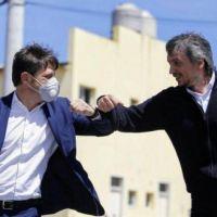 Kicillof sumó su apoyo para que Máximo sea presidente del PJ Bonaerense