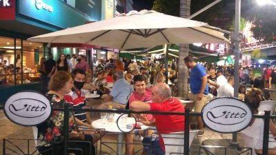 Estalló el verano en Carlos Paz, el mejor fin de semana del 2021