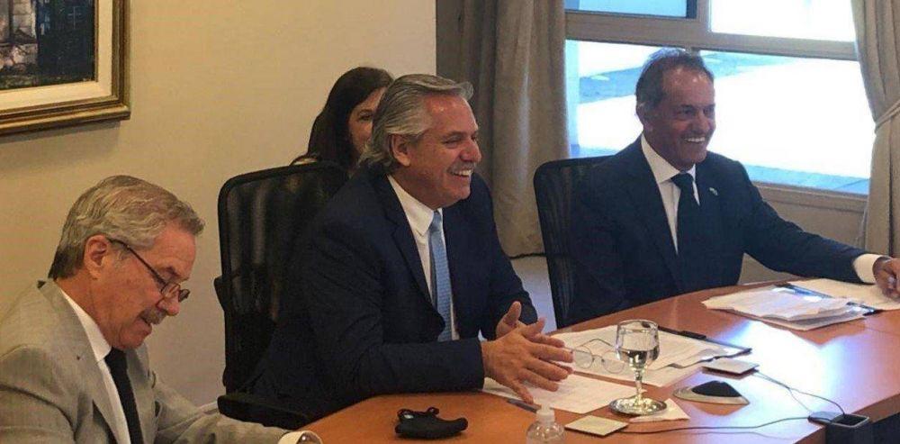 Alberto Fernández le dijo no a la renuncia de Solá, reabrió La Ñata de Daniel Scioli y Jorge Capitanich DT