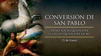 Hoy es la fiesta de la Conversión de San Pablo