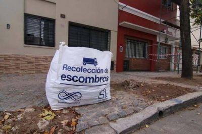 San Isidro: más de 2 mil vecinos utilizaron el servicio de bolsones de escombros