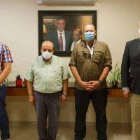 Mussi se reunió con Berni para analizar el incremento de los delitos en Berazategui
