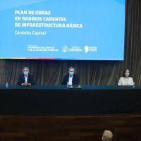 Schiaretti y Llaryora anunciaron obras por más de $2 mil millones en la Capital