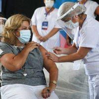 Sonia Martorano recibió la primera dosis de la Sputnik V y descartó nuevas restricciones