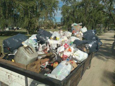Se recolectaron cerca de tres toneladas de residuos de las costas del río
