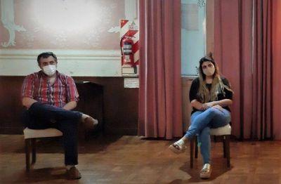 Tras la designación de Camila Caballero, Salazar y Sancho explicaron cuál será el rol del Municipio en la vacunación