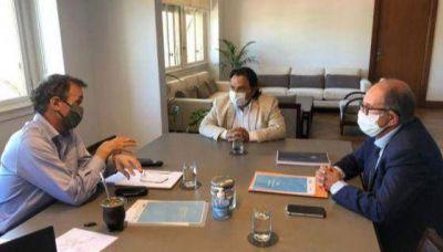 Sáenz se reunió con Katopodis por obras comprometidas para Salta