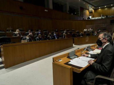 El Gobierno de Aragón prevé aprobar este año 21 leyes y modificar el Estatuto para suprimir los aforamientos