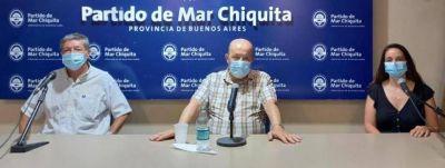 Paredi se refirió al plan de vacunación y la situación epidemiológica de Mar Chiquita