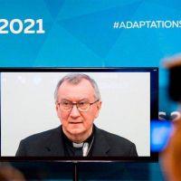 """Parolin pide """"actuar con rapidez"""" en la Cumbre sobre el clima 2021"""