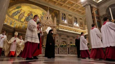 Homilía del Papa Francisco Vísperas de la Solemnidad de la Conversión de San Pablo 2021