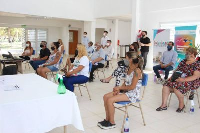 Seis instituciones junto al Municipio firmaron el acta compromiso para sumarse al Programa Solidaridad Urbana