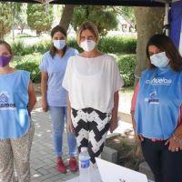 Cañuelas: Fassi recorrió los nuevos centros de vacunación contra el COVID-19