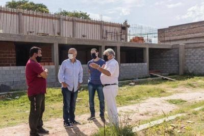 """Avanzan las obras de la Fundación """"Pupi"""" en el Parque Piñeiro"""