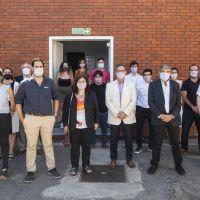 Salvarezza visitó la cooperativa que producirá y comercializará el primer test serológico rápido argentino de COVID-19