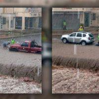 Córdoba: fuertes crecidas en las Sierras Chicas tras lluvias