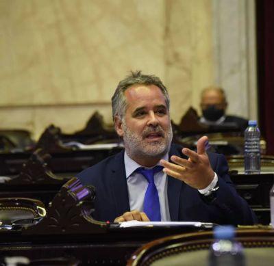 """""""No inventen una grieta más"""", clamó el diputado tandilense Alejandro """"Topo"""" Rodríguez"""