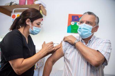 Alberto Gelené se aplicó la vacuna Sputnik V