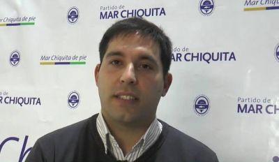 """Cueto: """"Me pregunto dónde estaban algunos concejales de la oposición cuando se inauguraban las obras durante la pandemia en Mar Chiquita"""""""