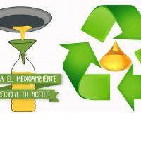 La Comuna de Villa Mercedes ya recicló 2 mil litros de aceites vegetales usados