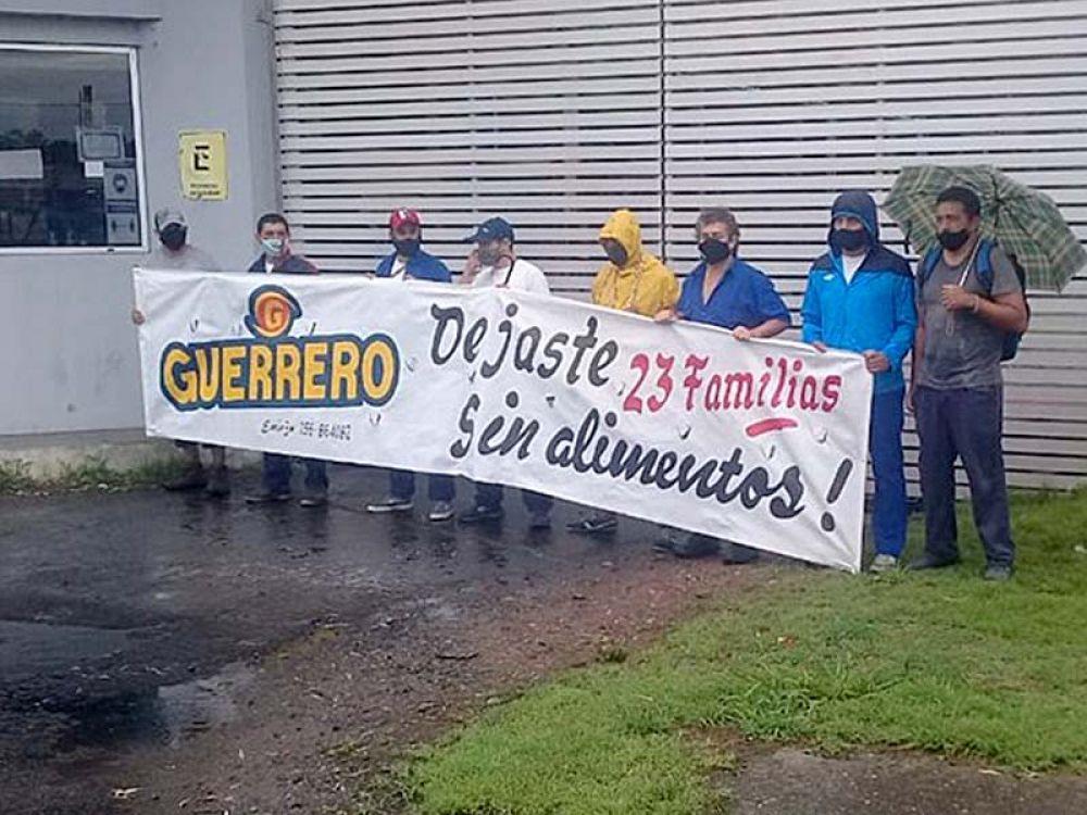 Santa Fe: Se tensiona la situación con los despedidos de Guerrero Motos