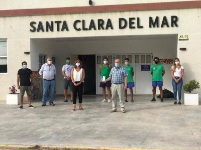 La ministra de Trabajo de la Provincia, Mara Malec, visitó Santa Clara del Mar y afirmó que se «trabaja en muy buena sintonía»