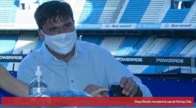 Diego Bossio controlará la caja de Racing Club