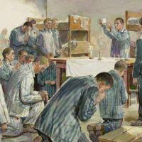 ¿Cómo fue la vida religiosa de los católicos en Auschwitz?
