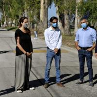 Hurlingham | Zabaleta y Katopodis inauguraron obra de pavimentación en el distrito