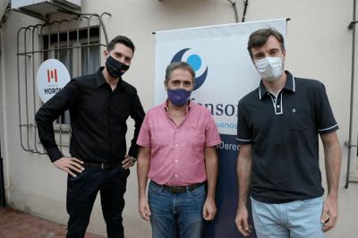 Morón | Ghi y Lorenzino inauguraron la delegación de la Defensoría del Pueblo de la Provincia