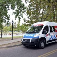 El Municipio de Tigre incorporó un nuevo móvil de traslado sanitario