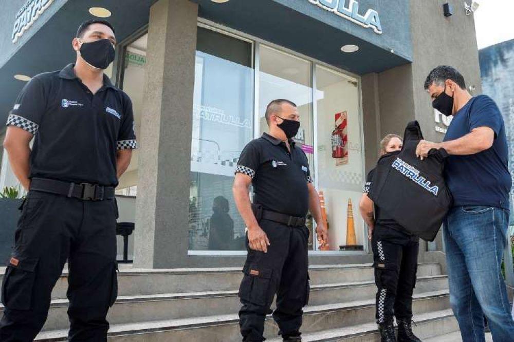 Vicente López: Nuevos chalecos antibalas para agentes de seguridad