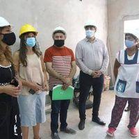Chornobroff y Sierra visitan escuelas y supervisan obras de infraestructura educativa